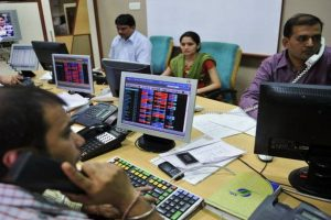 Sensex falls over 150 points, Nifty below 10,300 in early trade