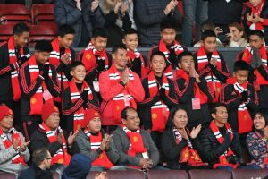 Thai cave boys watch Manchester United beat Everton at Old Trafford