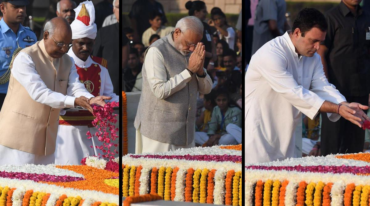 Mahatma Gandhi, Rajghat, Gandhi Jayanti