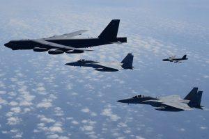 US flies B-52 bombers near South China Sea