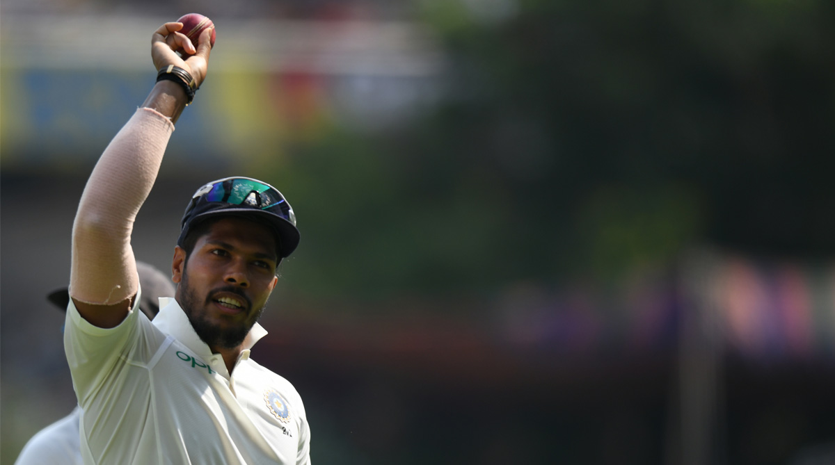 India vs West Indes, 2nd Test, India Cricket, Indian Cricket Team, Umesh Yadav, BCCI, West Indies Cricket, Virat Kohli, Roston Chase, Jason Holder