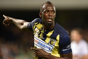 Watch: Sprint legend Usain Bolt gets off the mark for Central Coast Mariners