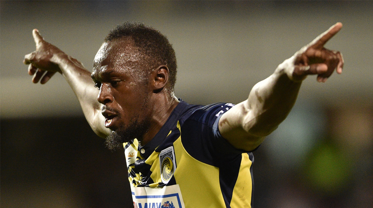 Usain Bolt, A-League, World Athletics, Central Coast Mariners, Australia Football