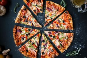 Fresh Veggie Pizza – The best food to eat in any season