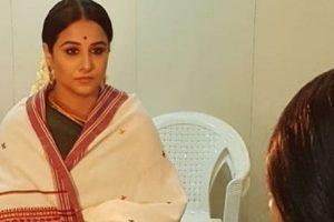 Vidya Balan shares her first look from NTR biopic