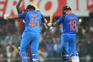 It is easy to chase when Rohit is going great guns: Kohli