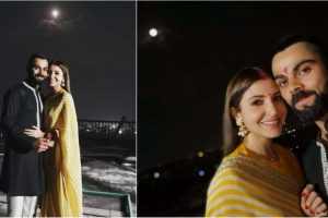 Anushka Sharma and Virat Kohli's Karva Chauth posts are breaking the internet