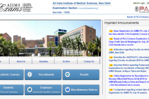 Basic Registration process for AIIMS PG July 2019 session begins | Apply now at aiimsexams.org