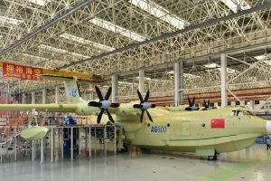 China-built world's largest amphibious aircraft completes successful flight