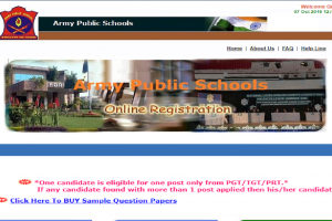 Army Public School is inviting applications for the posts of teachers, apply now at aps-csb.in