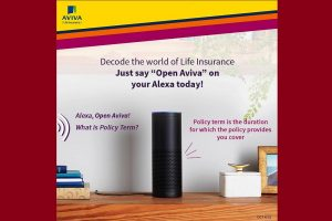 Aviva Life Insurance to debut on Amazon's Alexa