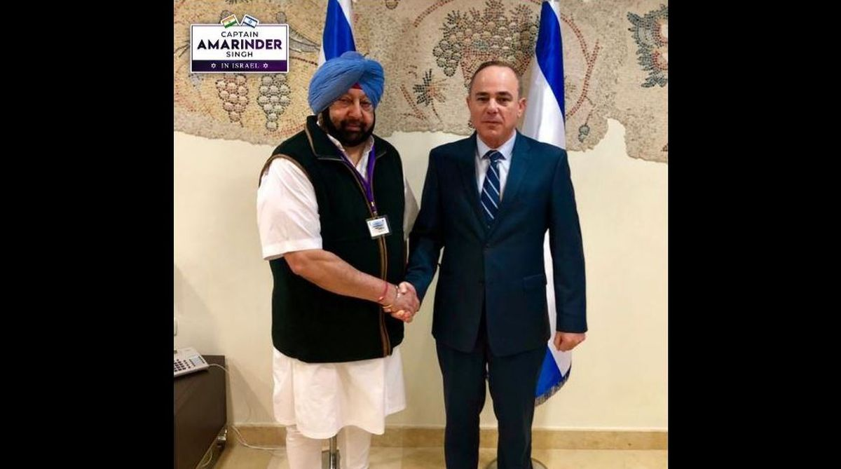 Amarinder Singh, pollution, recycle sewerage water, Dr Yuval Steinitz, water management