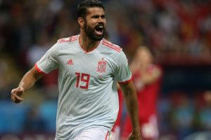 Atletico Madrid's Diego Costa suffers left thigh injury