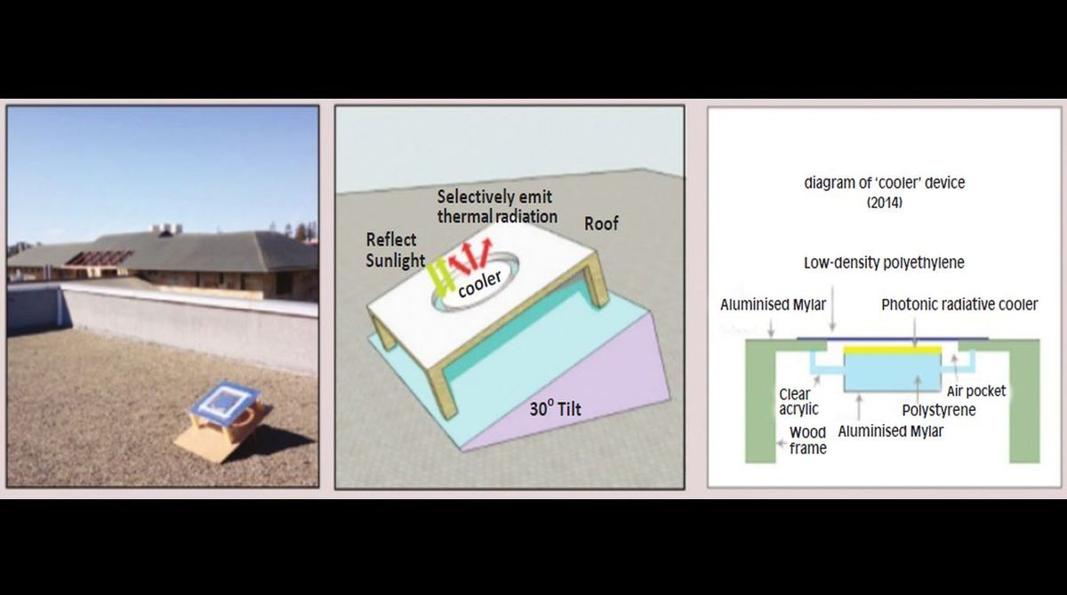 Air conditioning, electricity, conserving food,Shanhui Fan,Stanford University,Aswath Raman, Eli A Goldstein