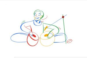 Google doodle honours legendary tabla player Lachhu Maharaj on his birthday