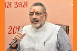 Nothing can stop Ram temple construction: Union minister Giriraj Singh