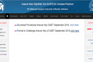 GSET answer key released at gujaratset.ac.in, check more details here