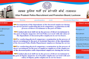 Uttar Pradesh Police Department has invited applications for various posts | Check more details here