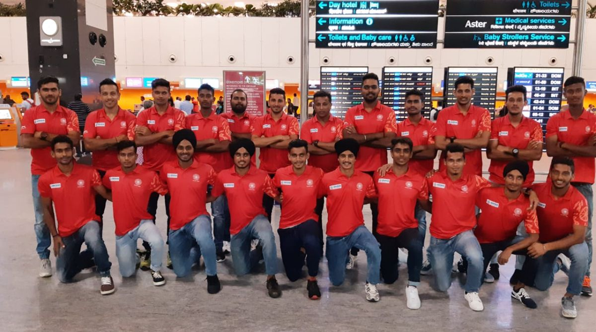 Indian Junior Men's Hockey Team