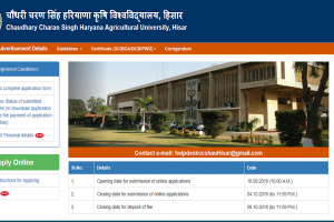 CCS HAU recruitment 2018: Applications invited for various posts, apply now at hau.ac.in