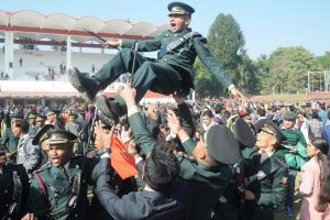 Indian Military Academy organises cross-country run