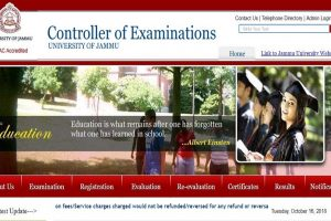 Jammu University results 2018: Results declared for Bachelor of Engineering exams | Check now on coeju.com
