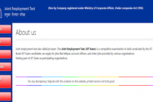JET recruitment 2018: Applications invited for Desk Operator and Account Keeper posts, apply now at jet-exam.com