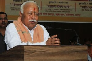 'Frog's noise': Cong attacks Mohan Bhagwat on Ram temple remark