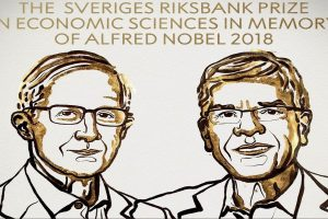 2018 Nobel Prize in Economics awarded to William D Nordhaus and Paul M Romer