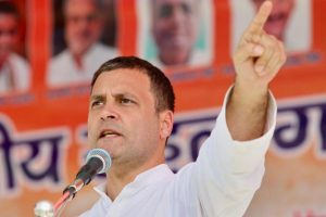 MP polls: Rahul to begin Malwa tour after worshipping Mahakal
