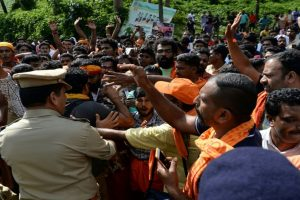 Sabarimala protests part of BJP-RSS game plan: CPI-M