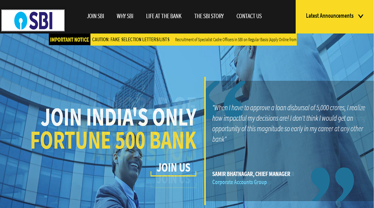 SBI recruitment 2018, State Bank of India