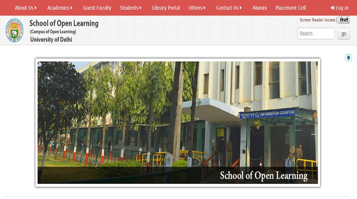 DU SOL Results 2018, School of Open Learning