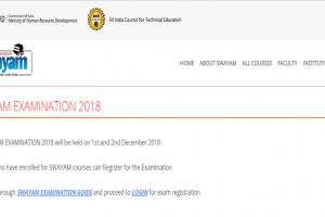 SWAYAM Exams 2018: Online registration closes today, register now at swayam.gov.in