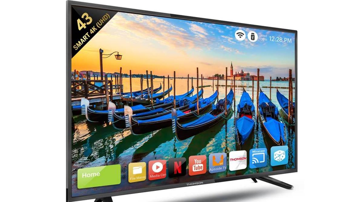 Flipkart Big Billion Days Sale 2018, Thomson smart TV, Thomson 4k TV
