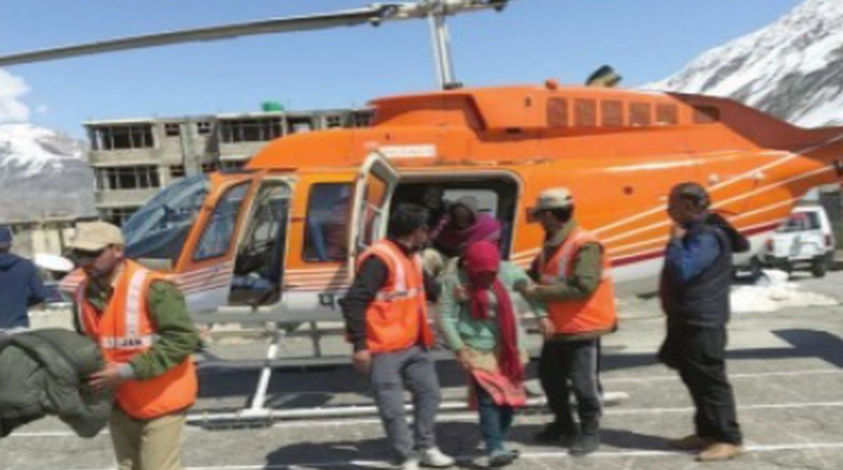 Missing trekkers, Chamba, rescue teams, Bhujpatra mountains, heavy snowfall, Air Force choppers