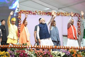 PM inaugurates Rs 2,412-cr project in Varanasi