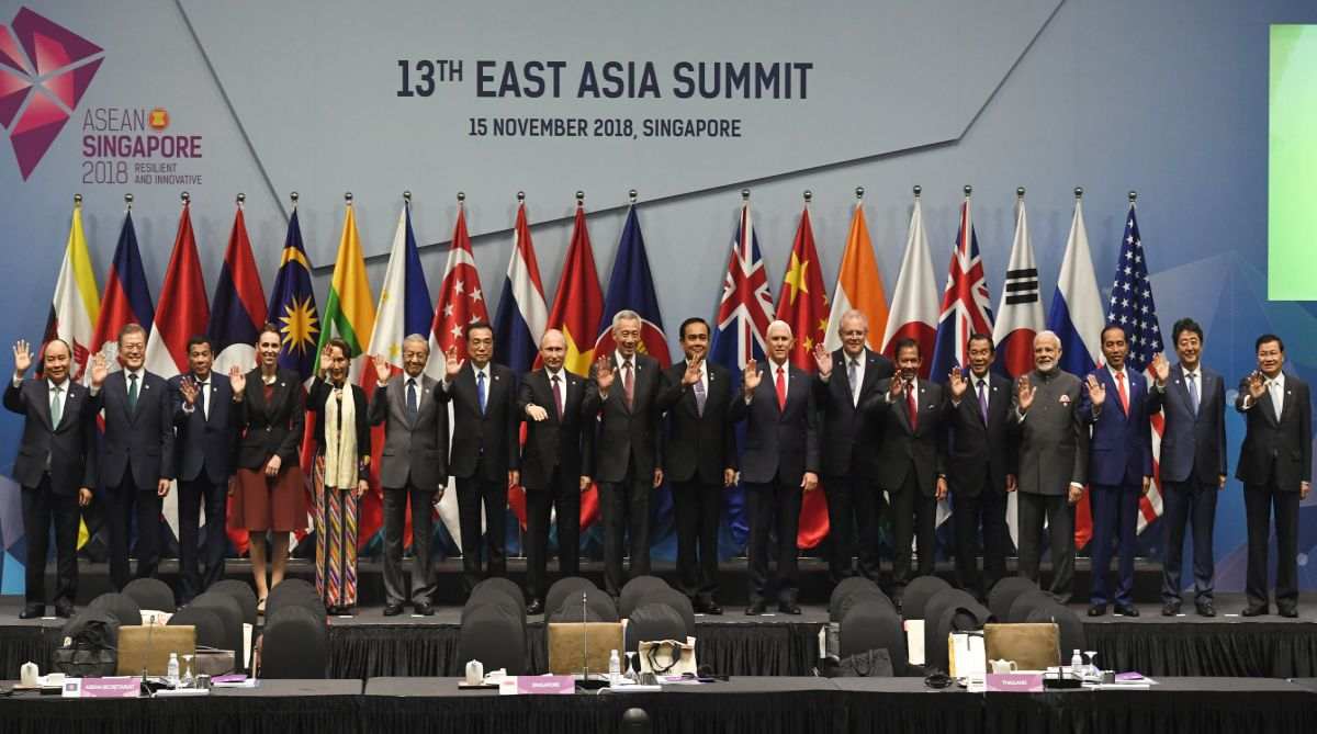 Indo-Pacific, India, US, Japan, Australia, East Asia Summit, Belt and Road Initiative, CPEC, ASEAN