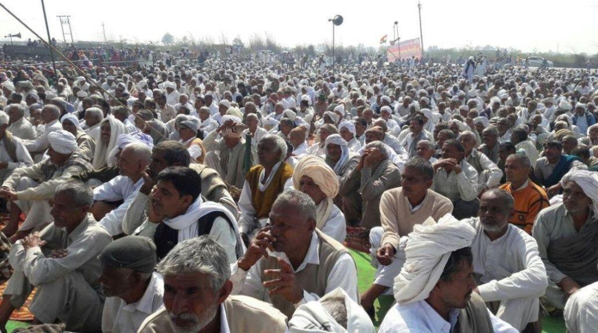 Farmers march to Bhubaneswar