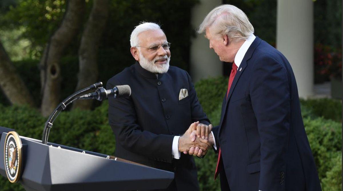 Prime Minister Narendra Modi and US President Donald Trump.