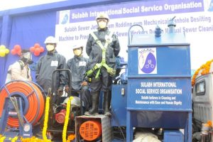 India gets its first sewer cleaning machine