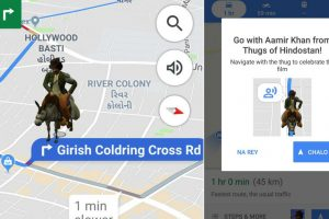 Aamir Khan as Firangi to guide you on Google Maps
