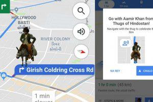 Aamir Khan as Firangi to guide you on Google Maps