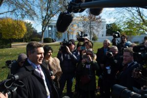 White House restores press pass of Jim Acosta, CNN drops lawsuit