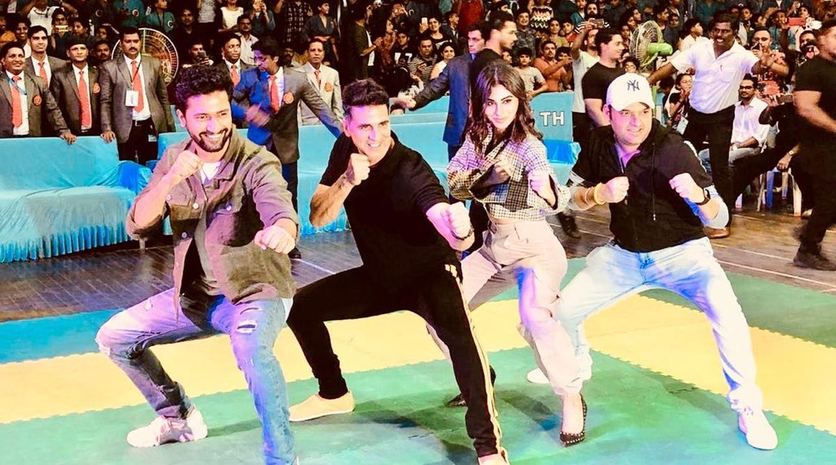 Akshay Kumar, Mouni Roy, Vicky Kaushal, Kapil Sharma, Xth Kudo tournament