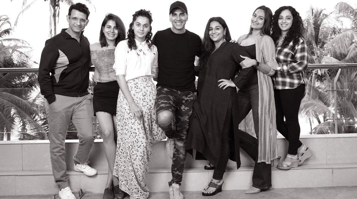 Akshay Kumar,Taapsee Pannu, Vidya Balan, Sonakshi Sinha, Sharman Joshi, Kirti Kulhari, Nithya Menen, Mission Mangal