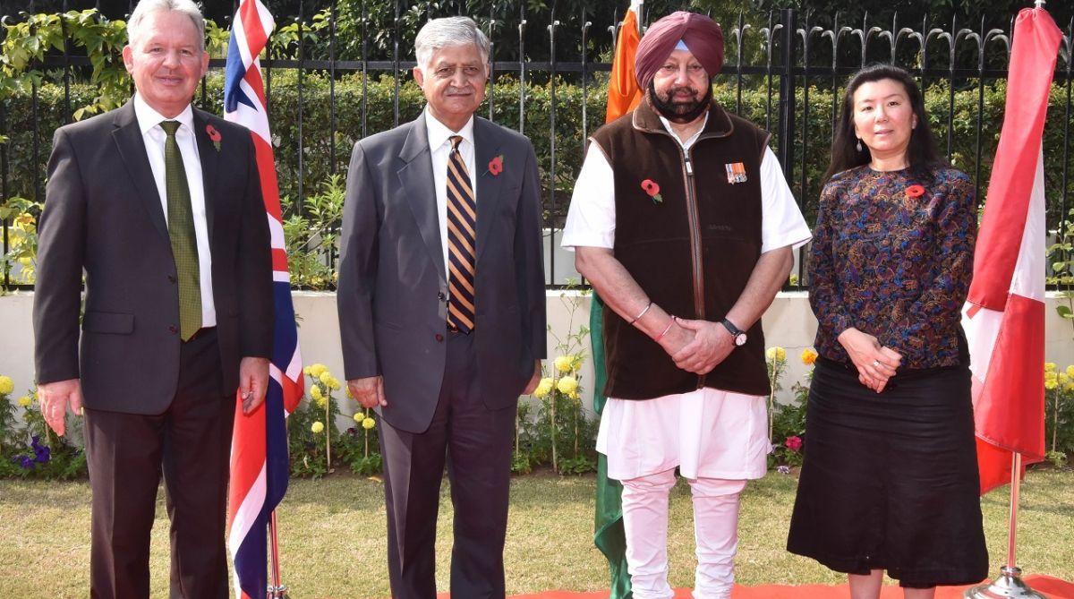 Amarinder Singh, Punjab CM, defence forces
