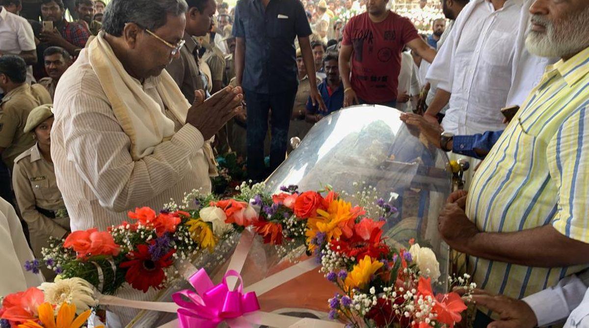 Ambareesh funeral, MH Ambareesh, Kannada actor, Tight security, funeral procession