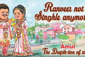 Just married: Deepika Padukone and Ranveer Singh