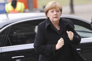 Mrs Merkel's exit